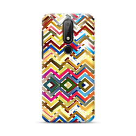 Digital Wave Pattern Nokia 6.1 Plus Case