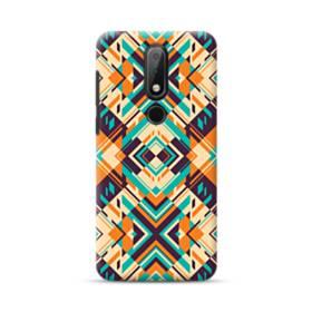 Digital Geometric Pattern Nokia 6.1 Plus Case