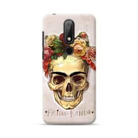 Frida Kahlo Rose Skull Nokia 6.1 Plus Case
