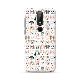 Drawing Dogs Nokia 6.1 Plus Case