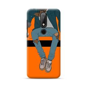 Rodeo Illustration Nokia 6.1 Plus Case