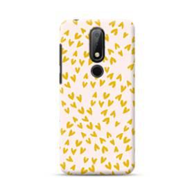Golden Hearts Nokia 6.1 Plus Case