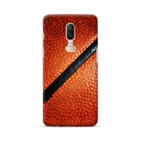Edgy Basketball Texture OnePlus 6 Case