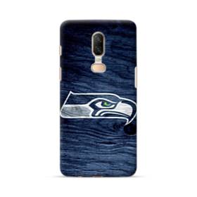 Seattle Seahawks Wood Texture OnePlus 6 Case