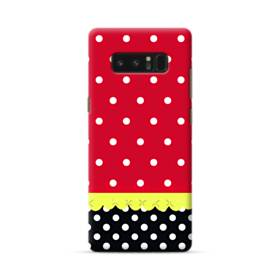 Red Black And Polka Dots Samsung Galaxy Note 8 Case