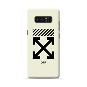 Off Minimalism Samsung Galaxy Note 8 Case