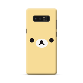 Cute Bear Face Samsung Galaxy Note 8 Case