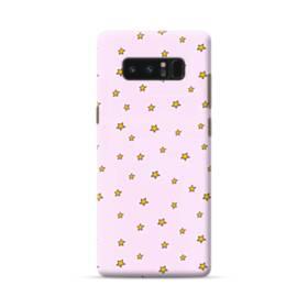 Golden Stars Pink Samsung Galaxy Note 8 Case