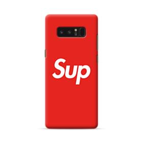 Supreme Logo New York Sup Samsung Galaxy Note 8 Case