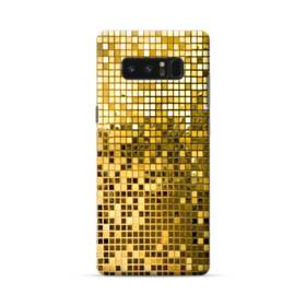 Gold Mosaic Tiles Samsung Galaxy Note 8 Case