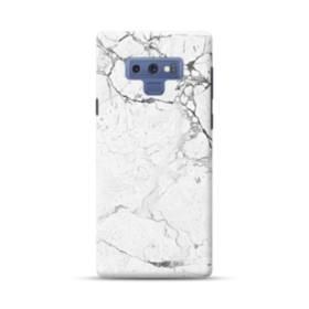 White Marble Texture Samsung Galaxy Note 9 Case