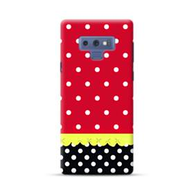Red Black And Polka Dots Samsung Galaxy Note 9 Case