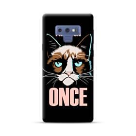 Grumpy cat I had fun once Samsung Galaxy Note 9 Case