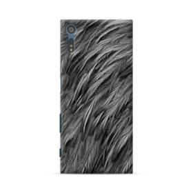 Black Feather Sony Xperia XZ Case