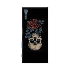 Rose And Skull Sony Xperia XZ Case