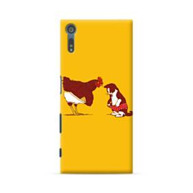 Chick And Cat Sony Xperia XZ Case