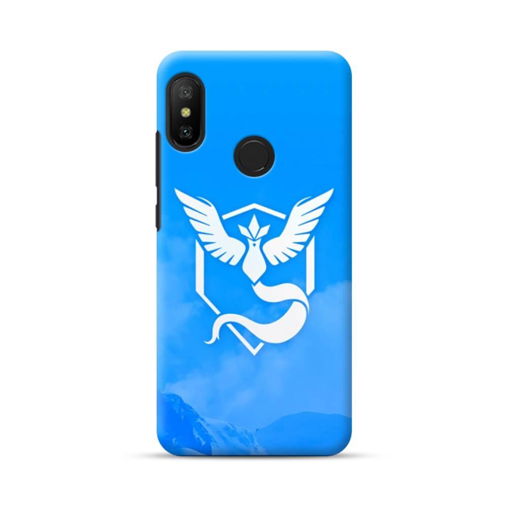 Pokemon Go Logo Team Mystic Blue Xiaomi Mi A2 Lite Case Case Custom