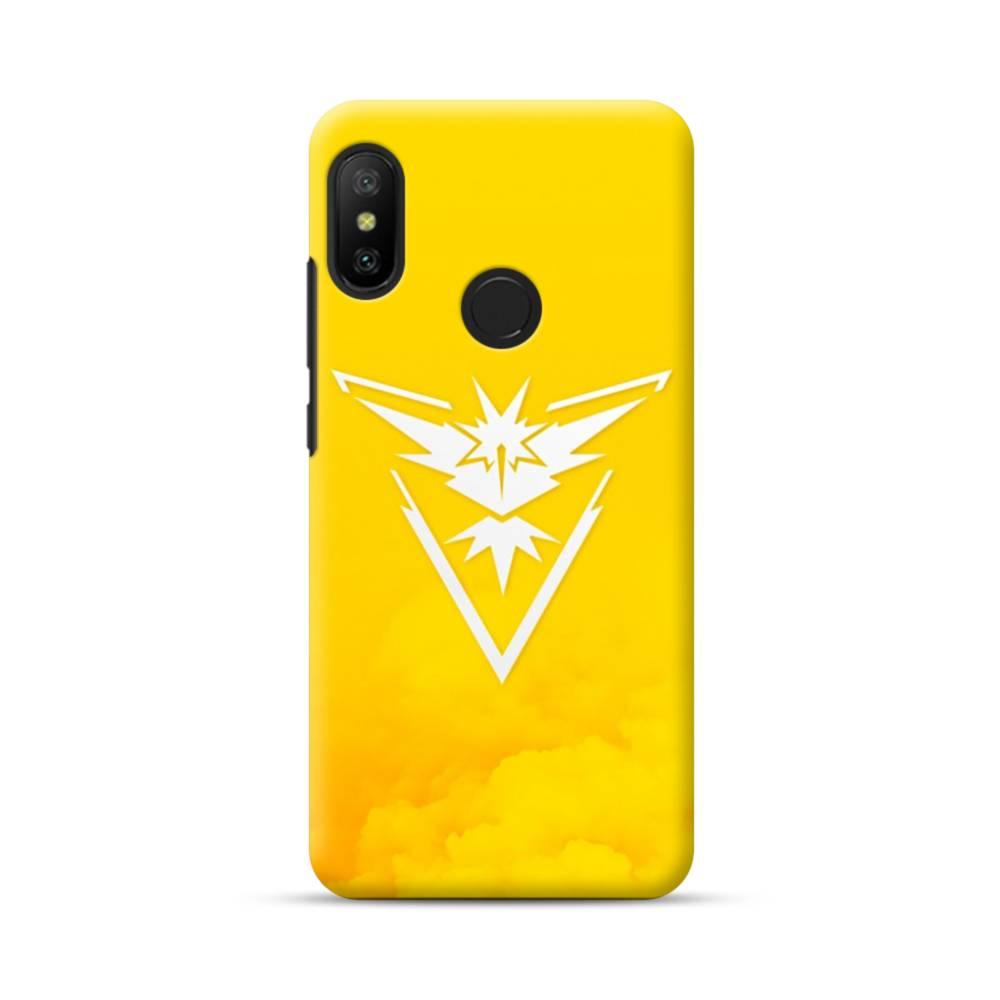 Pokemon Go Logo Team Instinct Yellow Xiaomi Mi A2 Lite Case Case Custom